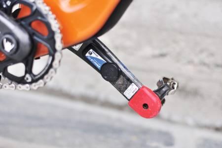 WATTMÅLER: Nå finnes det relativ rimelige wattmålere, både som krankarmer, kranker og pedaler, både til terrengsykler og landevei. Er du opptatt av målbar trening kan det være en god investering. Foto: Øyvind Aas