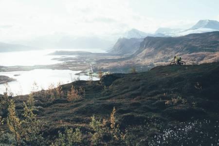 Troms Lyngen sykling