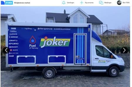 Joker fuel of norway servicebil