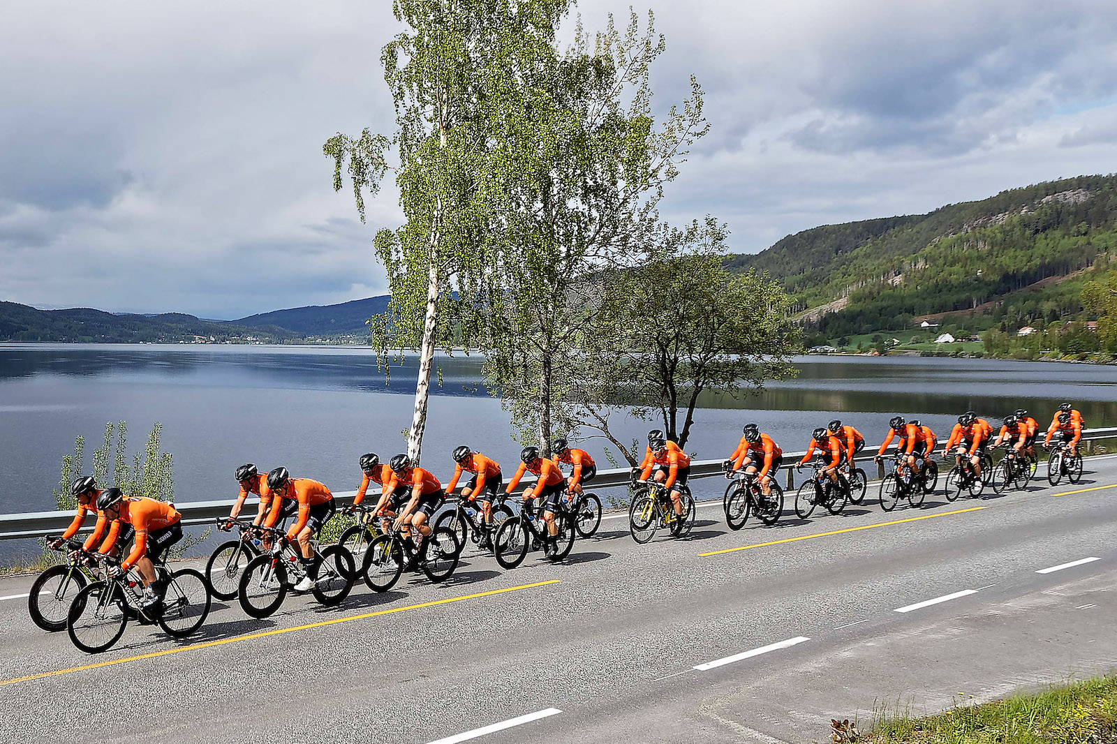 PÅMELDT: Kjekkas er klare for Lillehammer-Oslo på lørdag. Foto: Ola Morken