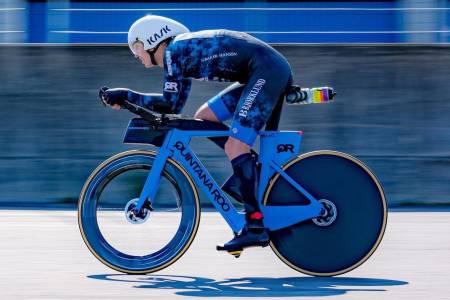 Allan Hovda klarte ikke å sette ny verdensrekord på 24-timers sykling
