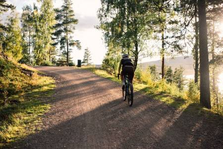 sykkel gravel nordmarka