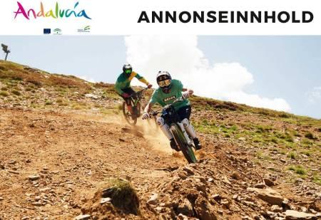 Sykkelmulighetene i Andalusia er uendelige. Her fra Sierra Nevada. Foto: Andalucia.org
