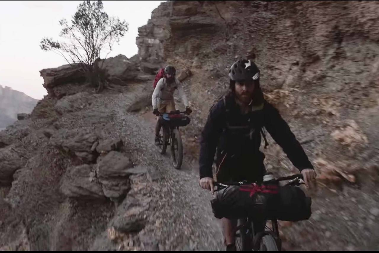 bikepacking oman film