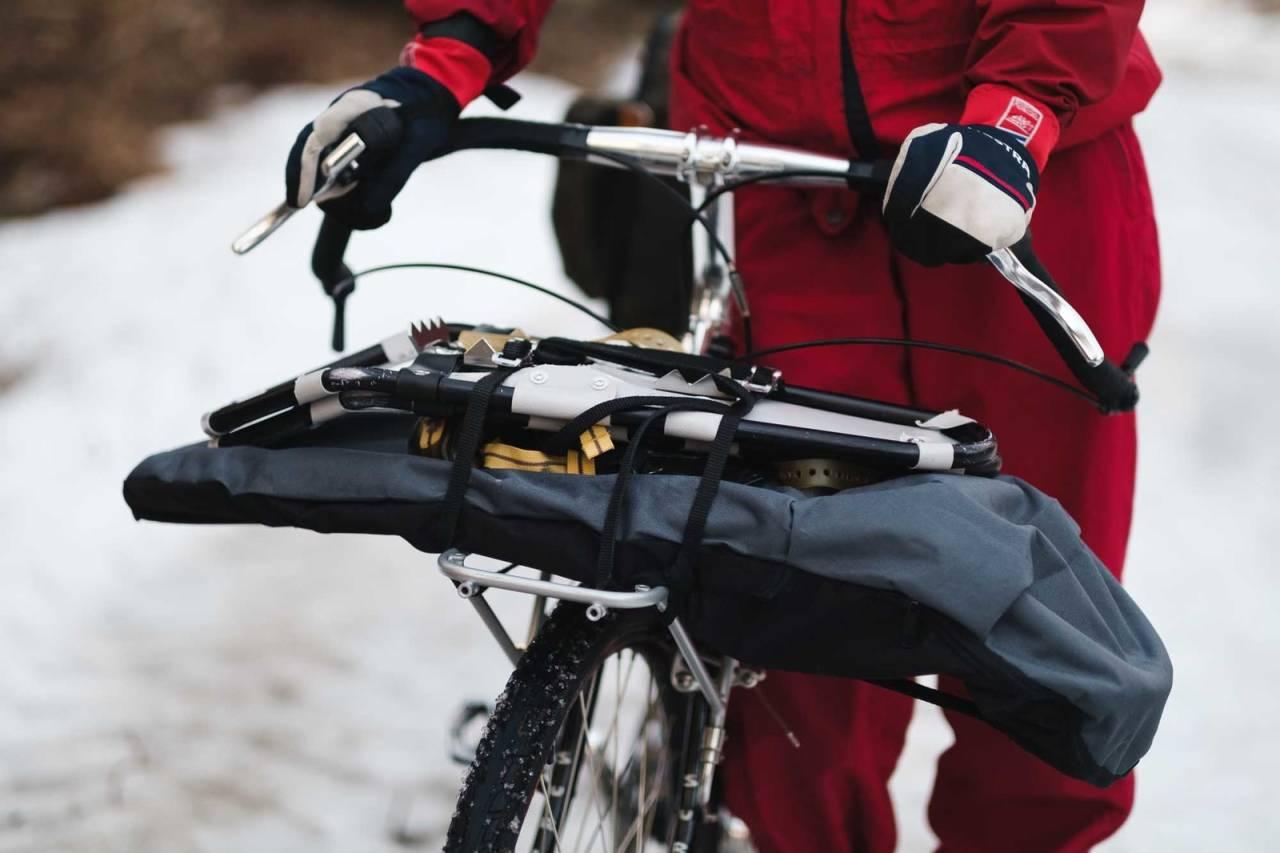 bikepacking sykkel vinter vår truger