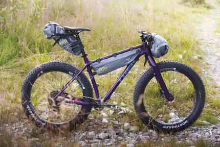 ferie med bikepacking, sykle i marka, på tur med sykkel