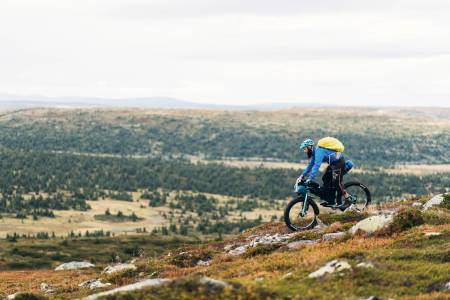 Så enkelt: Du må ikke dra til utlandet for å få fine sykkelopplevelser. Foto: Mikkel Soya Bølstad.