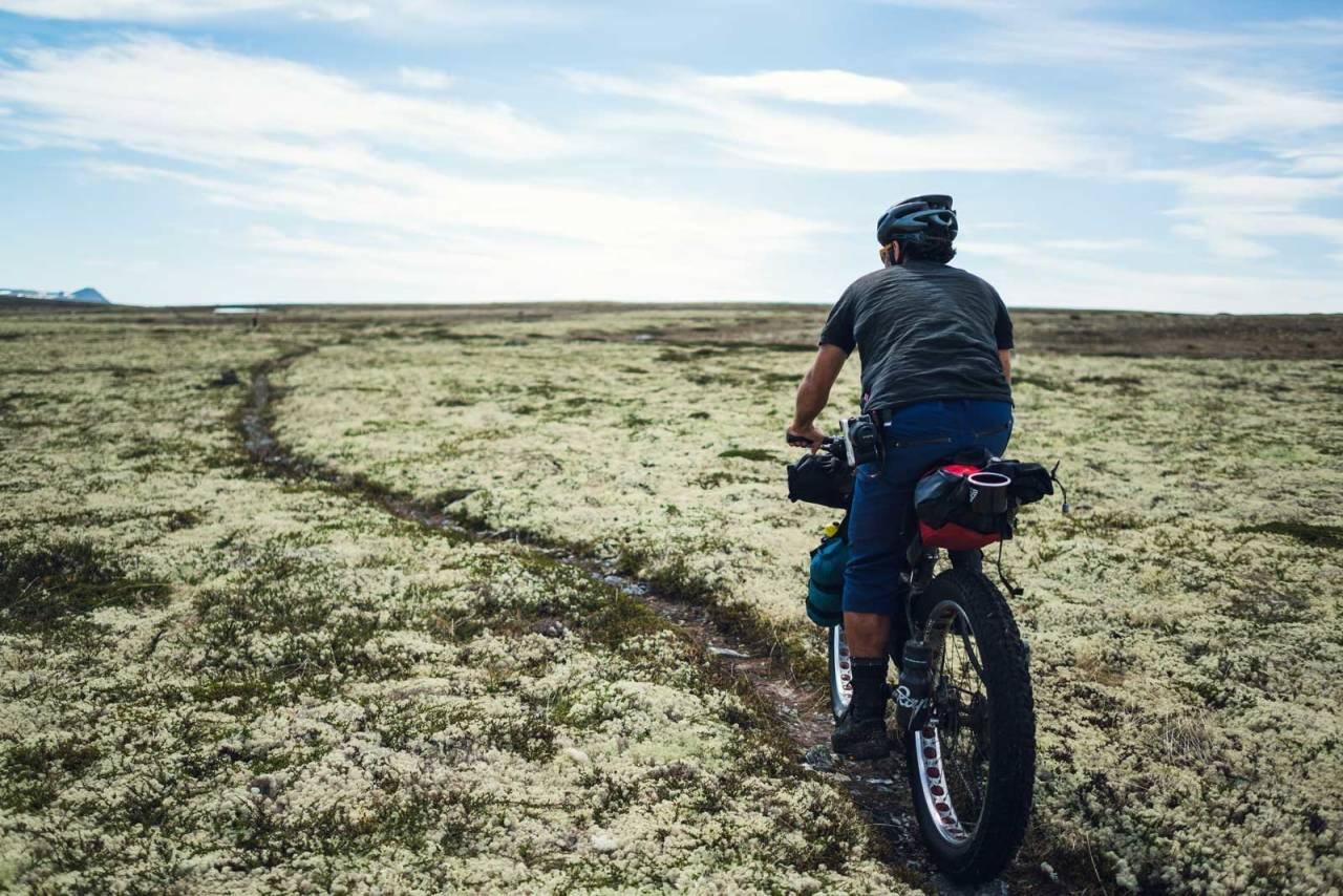 bikepacking norge på langs