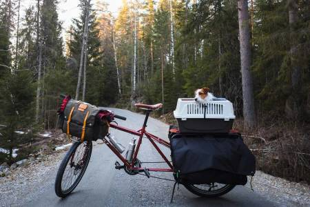 bikepacking påske korona nærmiljø