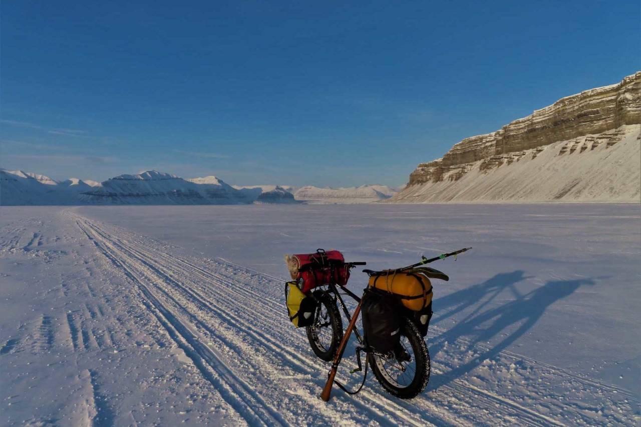 bikepacking fatbike svalbard