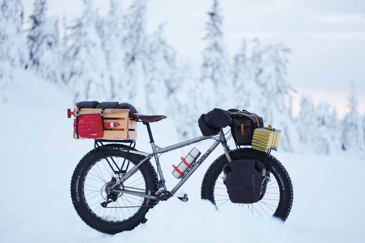 vintersykling overnatting tips vinter