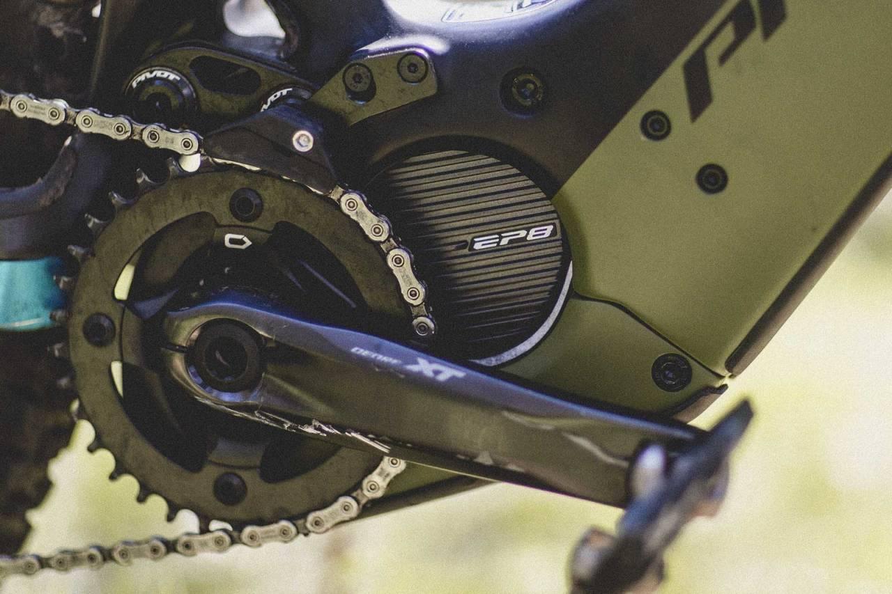 shimano ep8 motor elsykkel