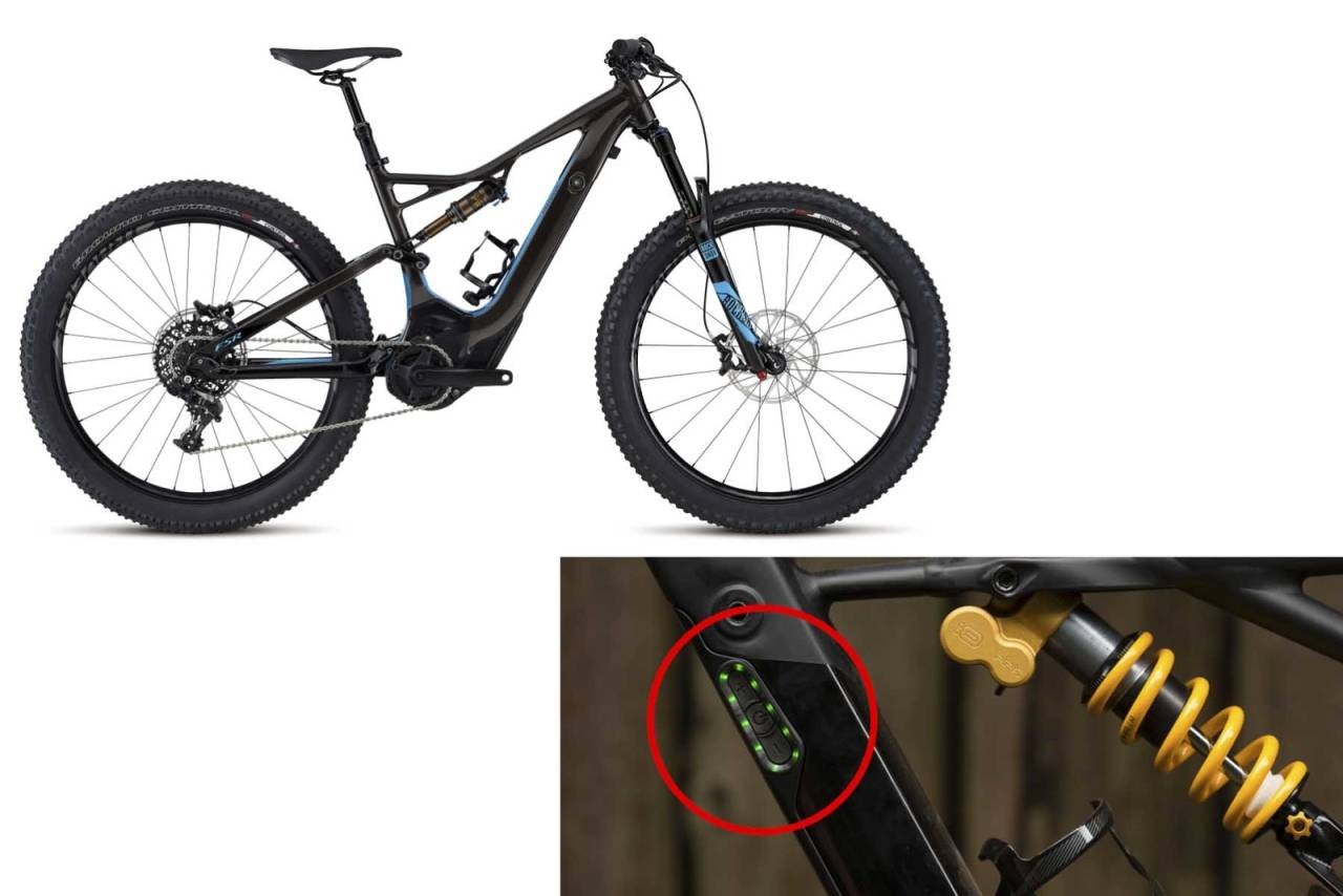 specialized elsykkel brannfare batteri tilbakekalling