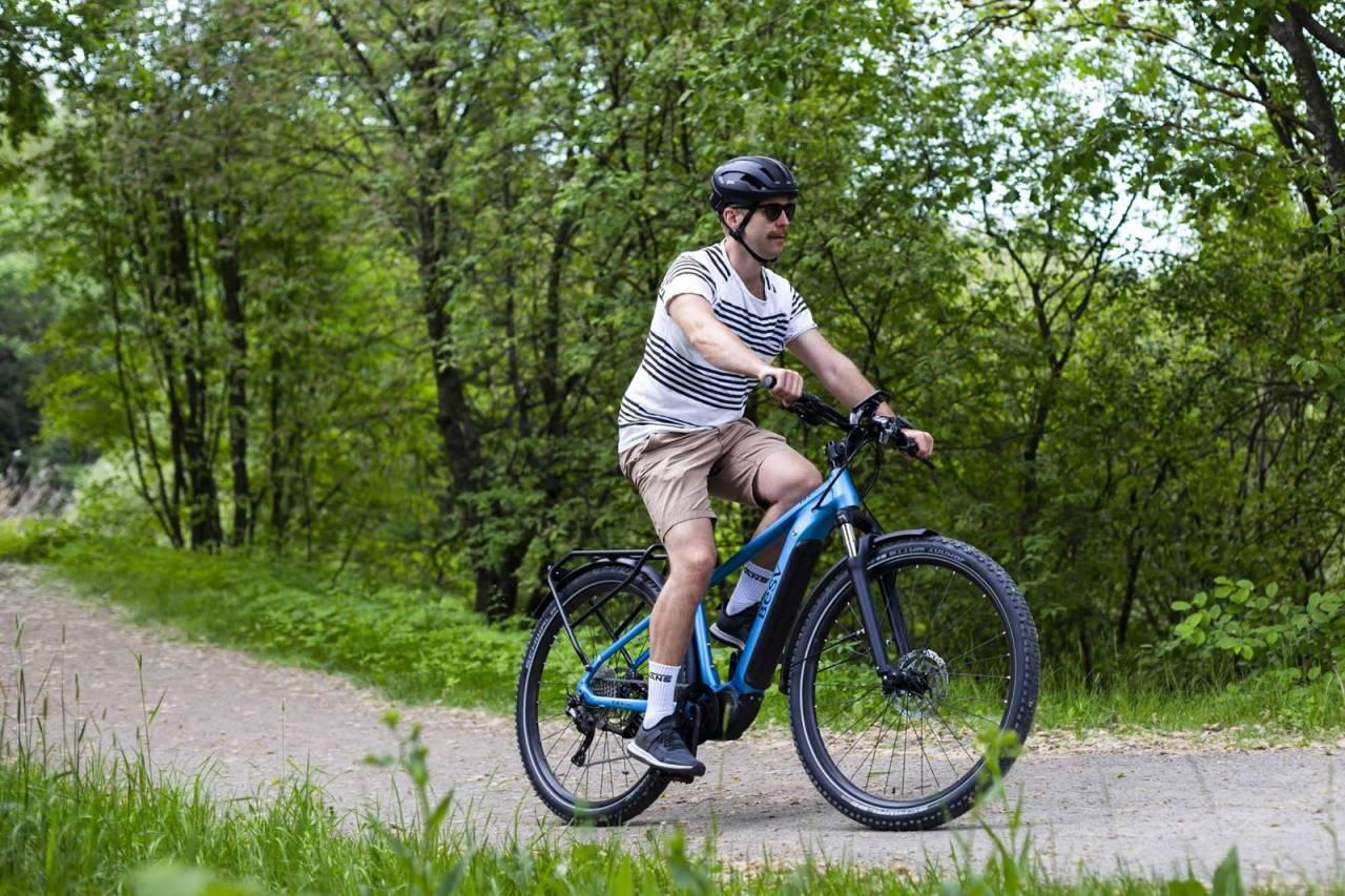 test elsykkel 2021 bysykkel jobbsykkel pendlesykkel transportsykkel elektrisk sykkel