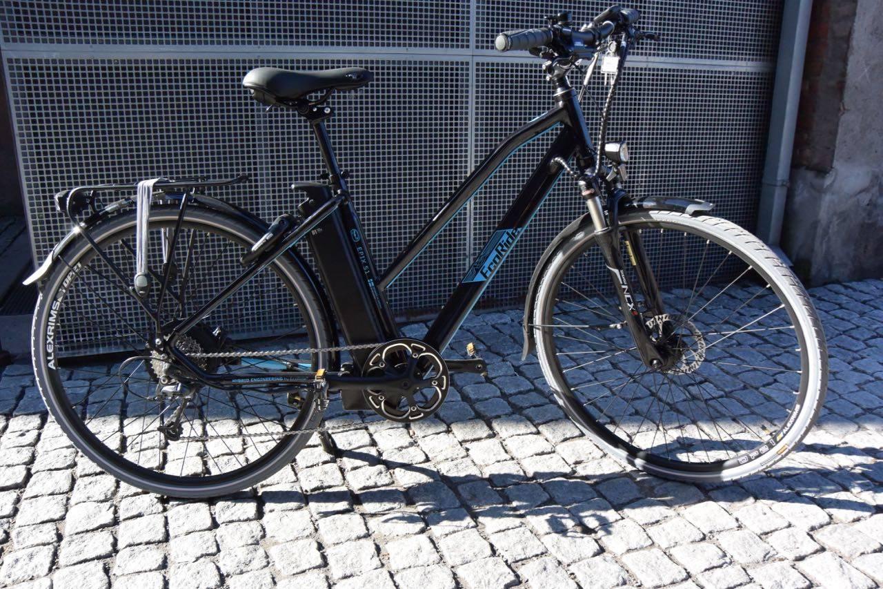 test Ecoride elsykkel