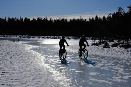 Svartholtet Elverum vintersykling