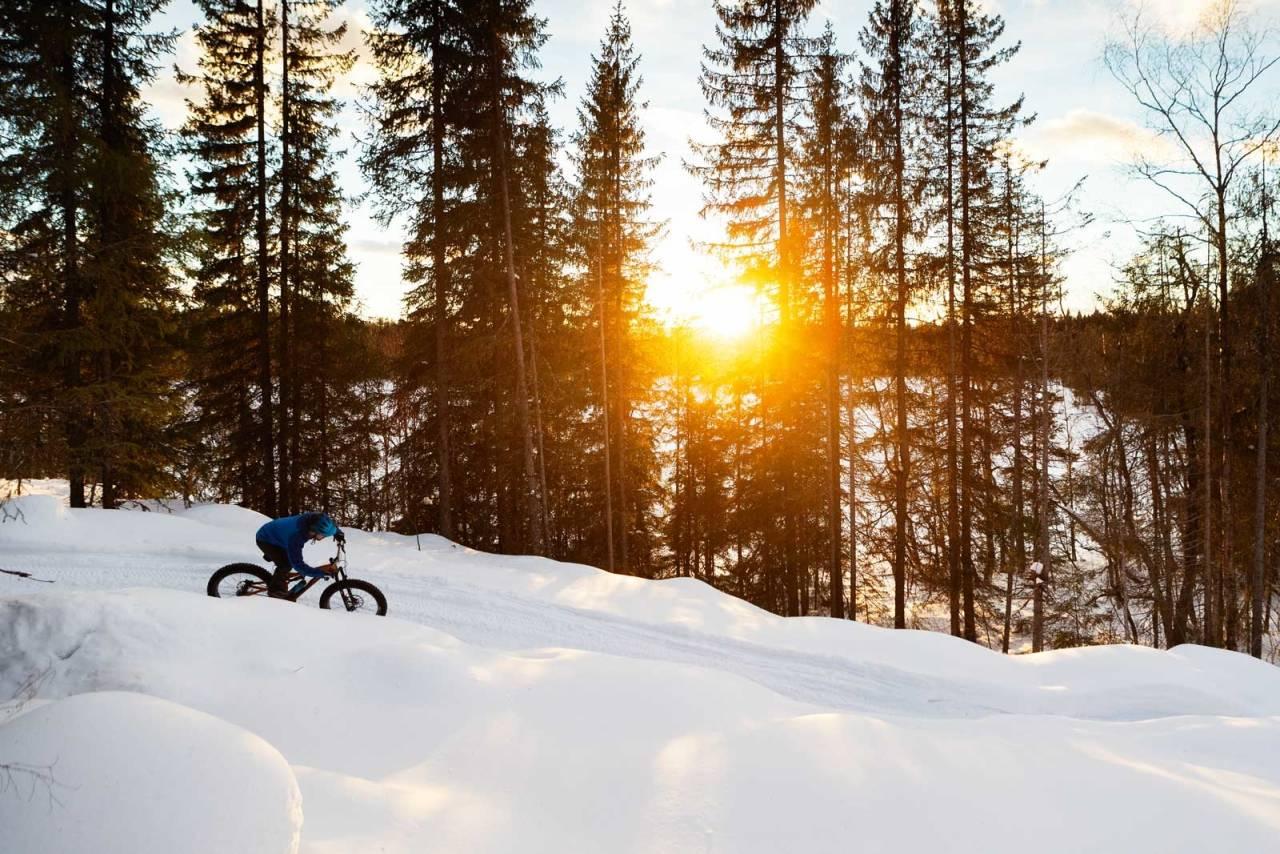 fatbike løype lillehammer birkebeineren skistadion snorre pedersen