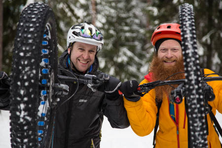 fatbike fatbikefeber terrengsykkel vintersykling