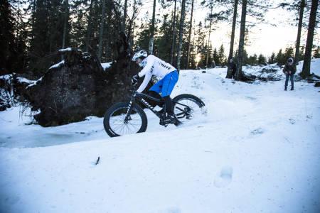 TALSMANN FOR DE FETE: Terrengsykkels Kristoffer Kippernes har tatt på seg programlederrollen. Bilde: Christian Nerdrum