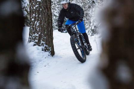 fatbike teknikk snø