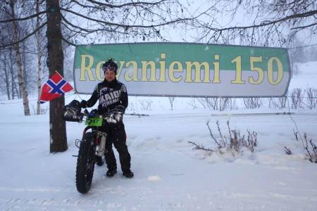 Tor Espen Jolma vant ekstremrittet Rovaniemi 300 i Finland