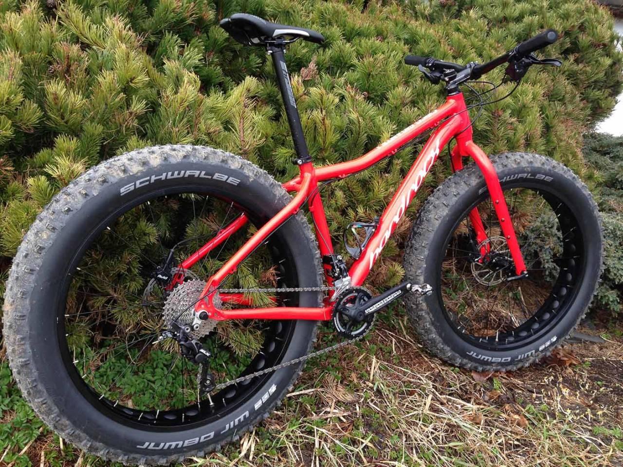 FEIT GIGANT: Vi har testet Hard Rocx sin fatbike, Cirgo Gigante. Foto: Gaute Reitan