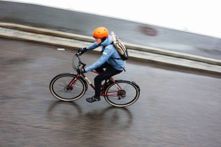 jobbsykling, jobbpendling, sykle i trafikken, sykle til jobb, kommentar