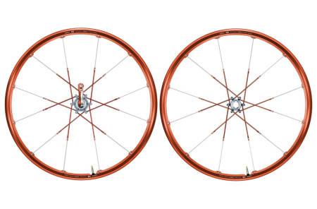 GALE HJUL: Crank Brothers gikk egne veier da de lanserte sine Cobalt og senere Iodine-hjul med tvillingeiker og tette felger.
