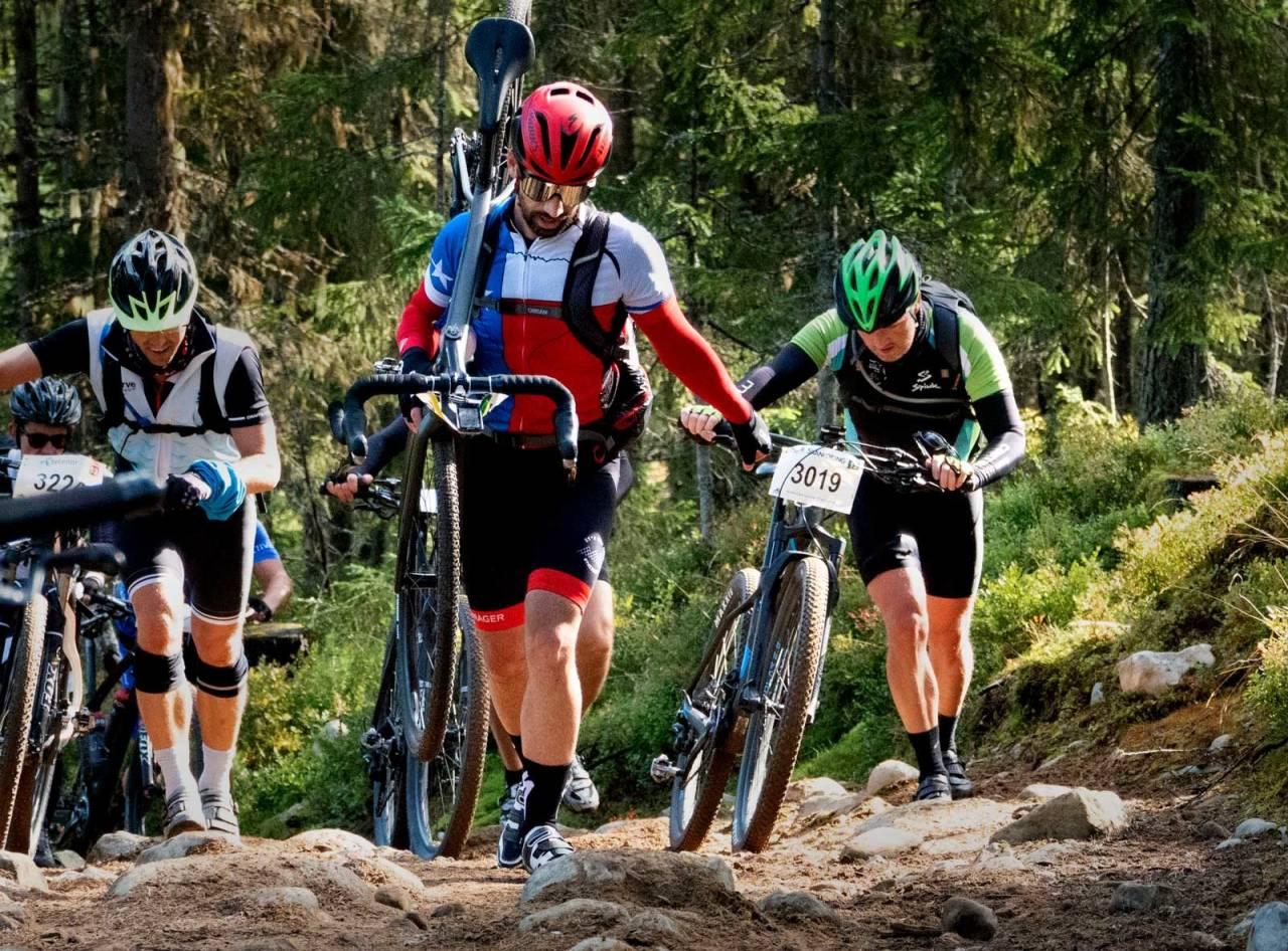 Flere valg: Birkebeinerrittet kan du sykle i flere klasser i 2019. Bukkestyreklassen som ble innført i fjor føres videre. Foto: Geir Olsen.