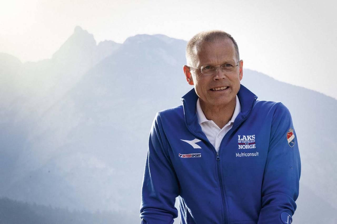 LYS FREMTID: Eddy Knudsen Storsæter leder et landslag i terrengsykling sterkere enn på lenge. Foto: Petter Fagerhaug