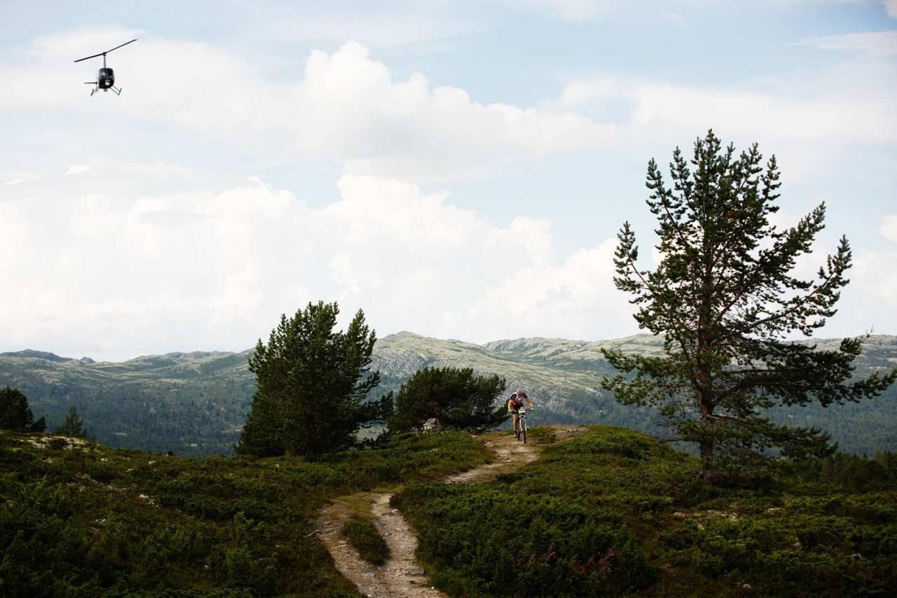 Se på: Til tross for at løypa har stor geografisk utspredelse, kan du se rytterne på flere steder med litt planlegging.