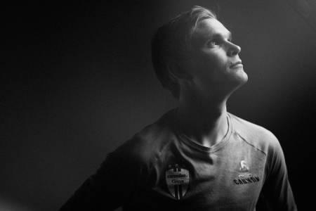 LYS FREMTID: Petter Fagerhaug har oppnådd det mange bare drømmer om – en proffkontrakt for å sykle verdenscup i rundbane.