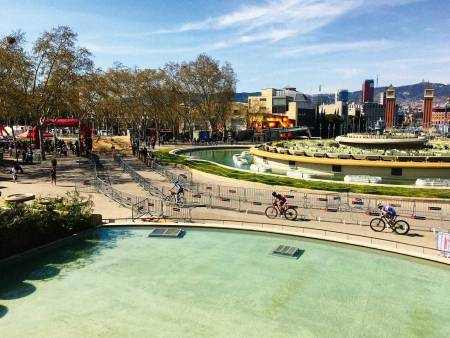 Sentralt: City Mountain Bike-rittene går selvfølgelig nok i bybildet, med både naturlige og bygde elementer.
