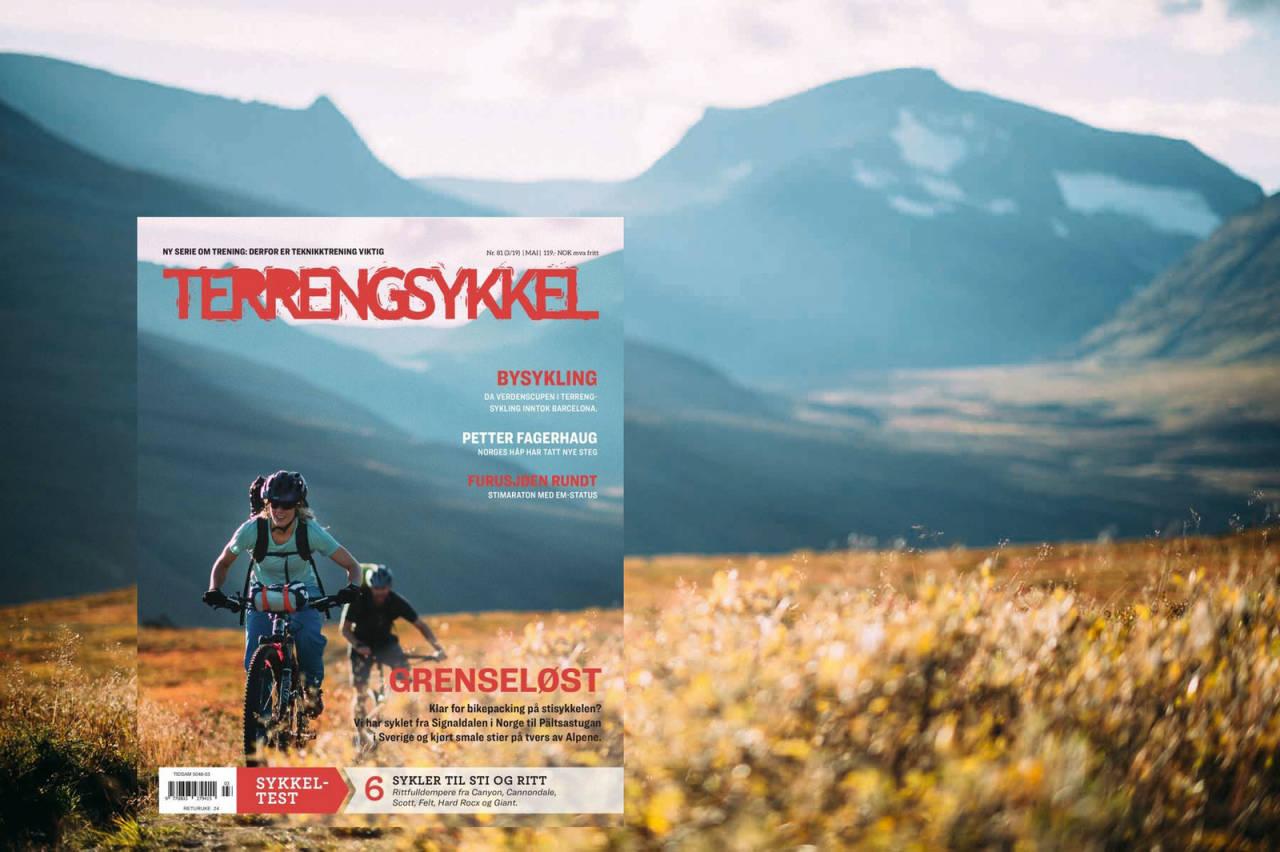 Et Terrengsykkel-abonnement gir deg overblikk og innsikt om alle former for terrengsykling. Du kan forvente utfyllende intervjuer, guider og tester om elsykkel, enduro, bikepacking, stisykling og grussykling.