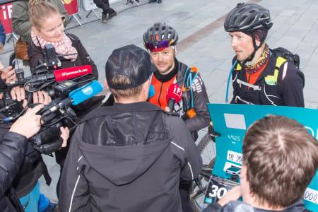 Bjørnar Aronsen og Tor-Espen Jolma vant Offroad Finnmark OF300. Foto: Offroad Finnmark
