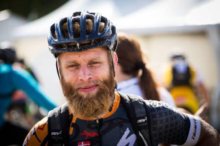 DANSK SEIER: Erik Skovgaard Knudsen gikk helt til topps i den 120 kilometer lange UltraBirken fredag (foto: Snorre Veggan)