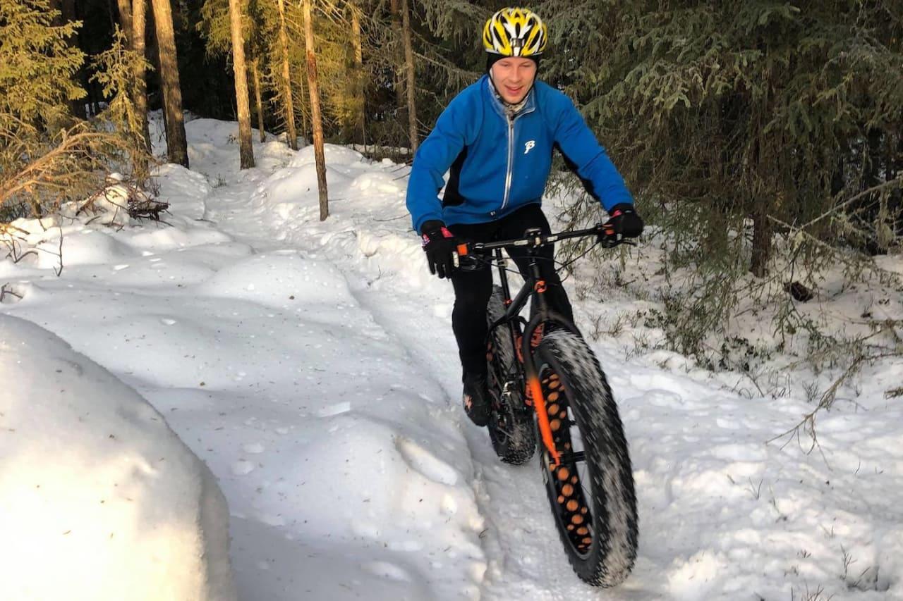 Eivind Botten var dagens raskeste på samtlige segmenter i Hjulefeit. Foto: Ole Christian Nymoen