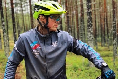 Brage Vestavik syklet rubbel og bit i Gullia og alt av heisbaserte løyper i Trysil i helga. Foto: ArneBjørn Vestavik