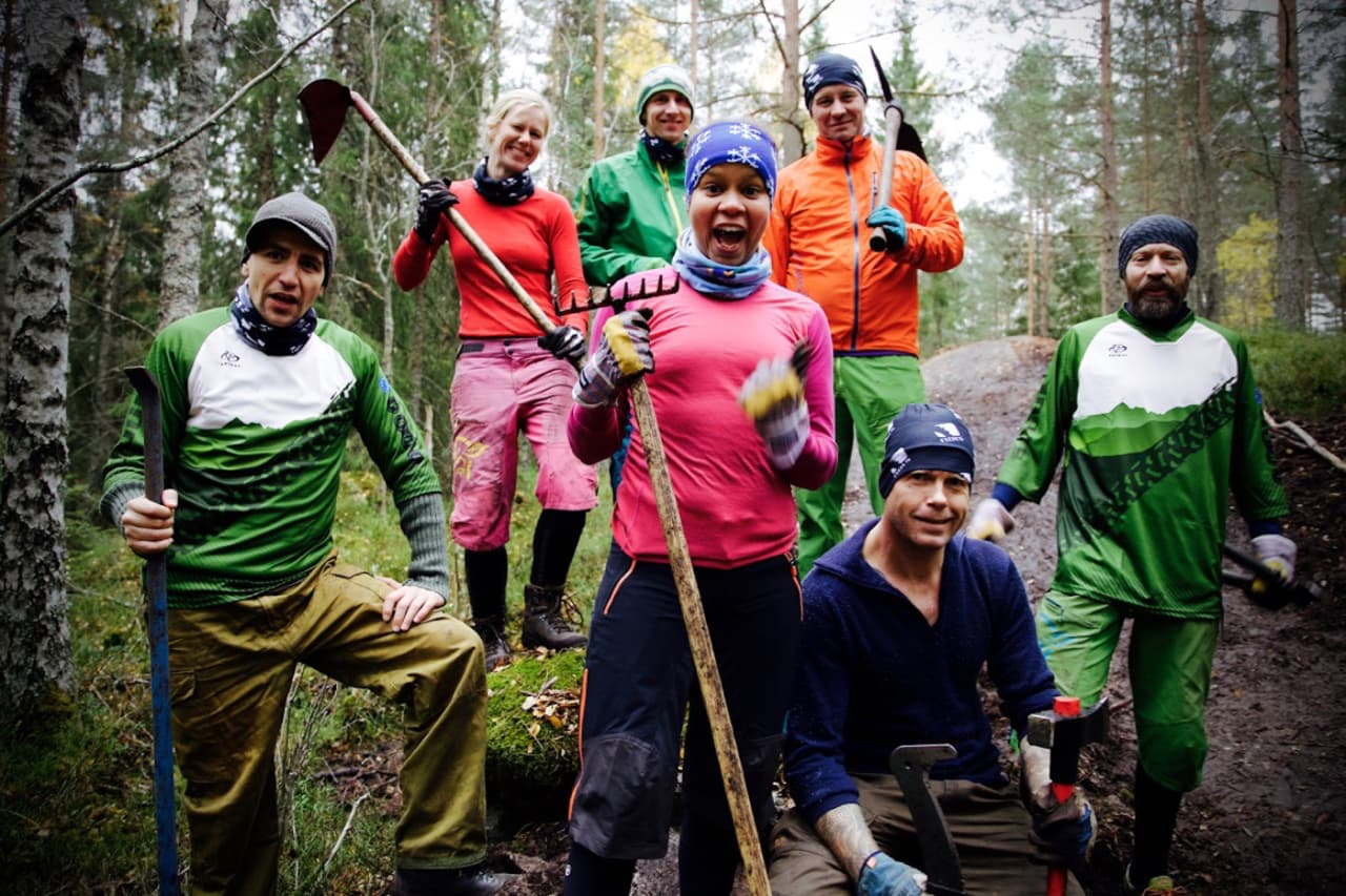 NOTS Oslo og Omegn trenger nye styremedlemmer. Her fra dugnad i Pioneren. Foto: Bjørn Enoksen