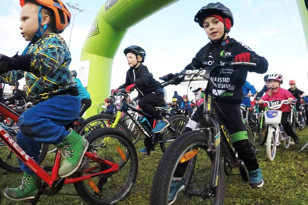 Første delprosjekt i Blåbærhaugen sykkelpark fokuserer på tiltak for barn og rekruttering, og skal stå ferdig til skolestart 2019. Foto: Harstad CK
