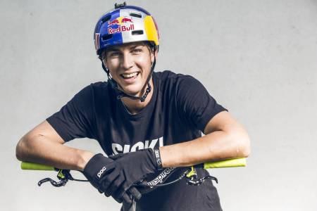 YOUTUBE-STJERNE: Fabio Wibmer har signer med Canyon fra 1. januar 2020.