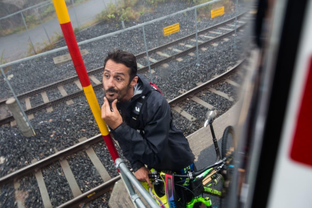 CEDRIC GRACIA: Du vet du har fått det til som syklist når du får et spill oppkalt etter deg. Bilde: Christian Nerdrum