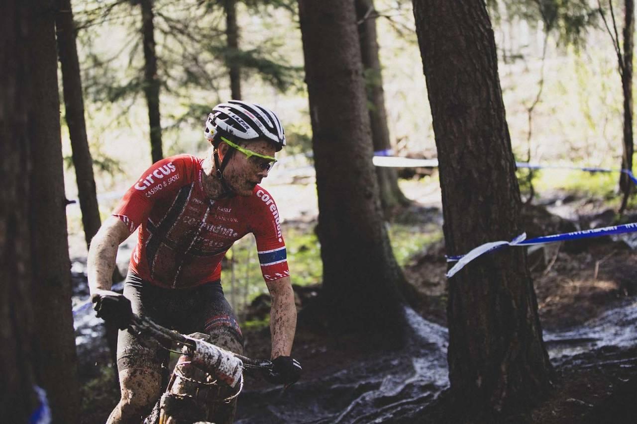 Petter Fagerhaug ble beste norske i verdenscupåpningen Albstadti Tyskland, på15.plass. Foto: Kristoffer Kippernes