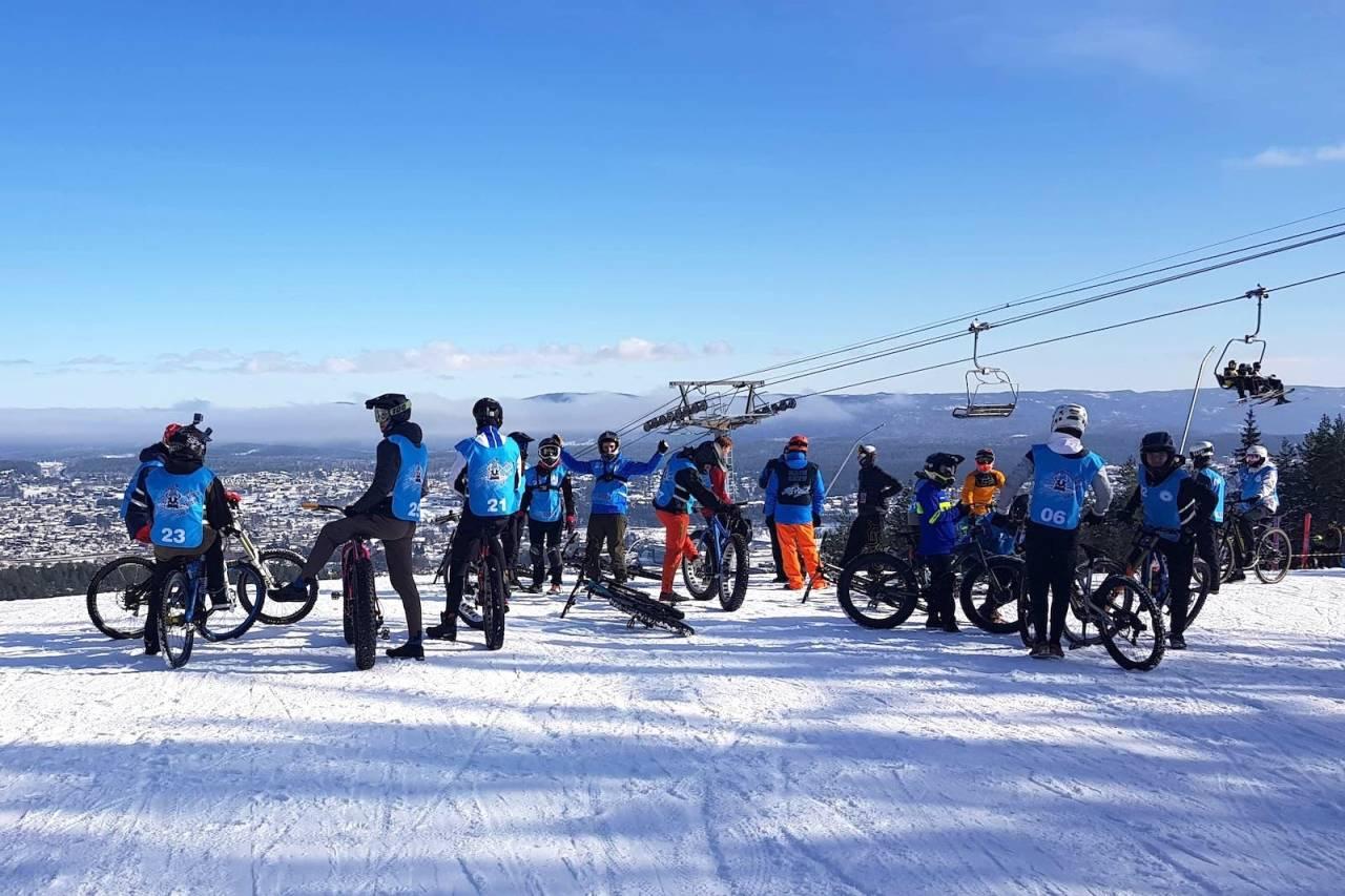 chinese downhill under Snowstock i Kongsberg skisenter