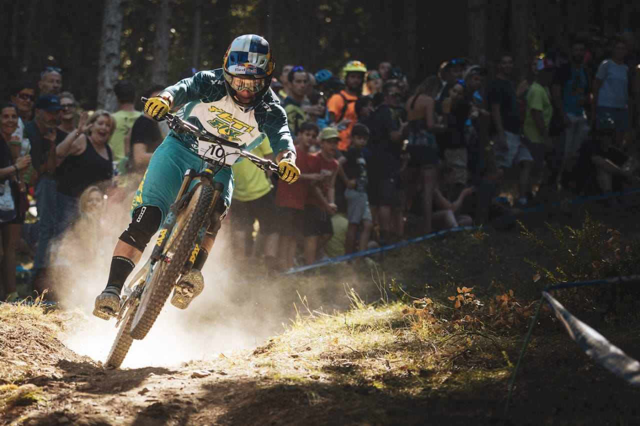 Richie Rude er en av rytterne som testet positivt for doping etter tredje runde i Enduro World Series i mai. Foto: Enduro World Series