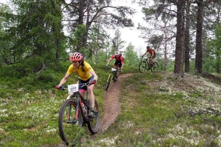 Sunniva Dring leder nå Norgescupen sammenlagt med 900 poeng. Foto: Arrangøren