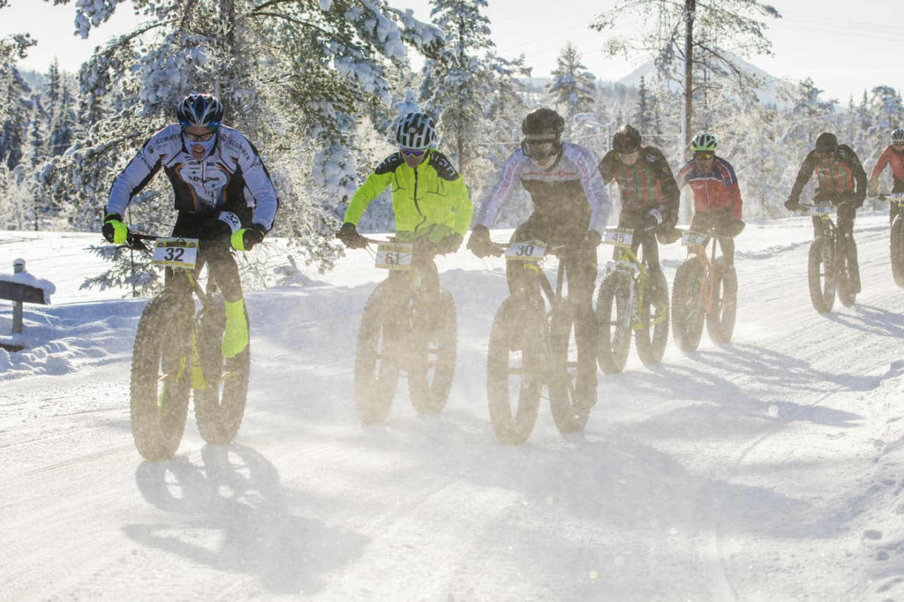 Lygna Fatbike dropper drømmen om NM og går for langløp i stedet etter at NCF heller ikke gir offisiell NM-status til fatbike i 2019. Foto: Per-Eivind Syvertsen