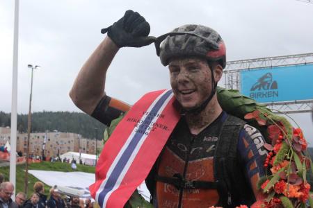 Eskil Evensen-Lie var en outsider til seieren i Birkebeinerrittet, men comeback-kanonen hadde marginene på sin side. Foto: Ingeborg Scheve
