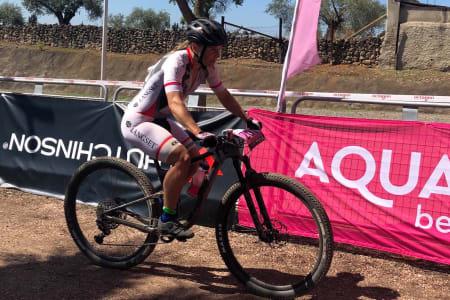 Hildegunn Gjertrud Hovdenak vant tre av de seks etappene i årets utgave av Andalucia Bike Race. På de resterende etappene kom hun på andreplass. Foto: Kristin Bye Weyer-Larsen