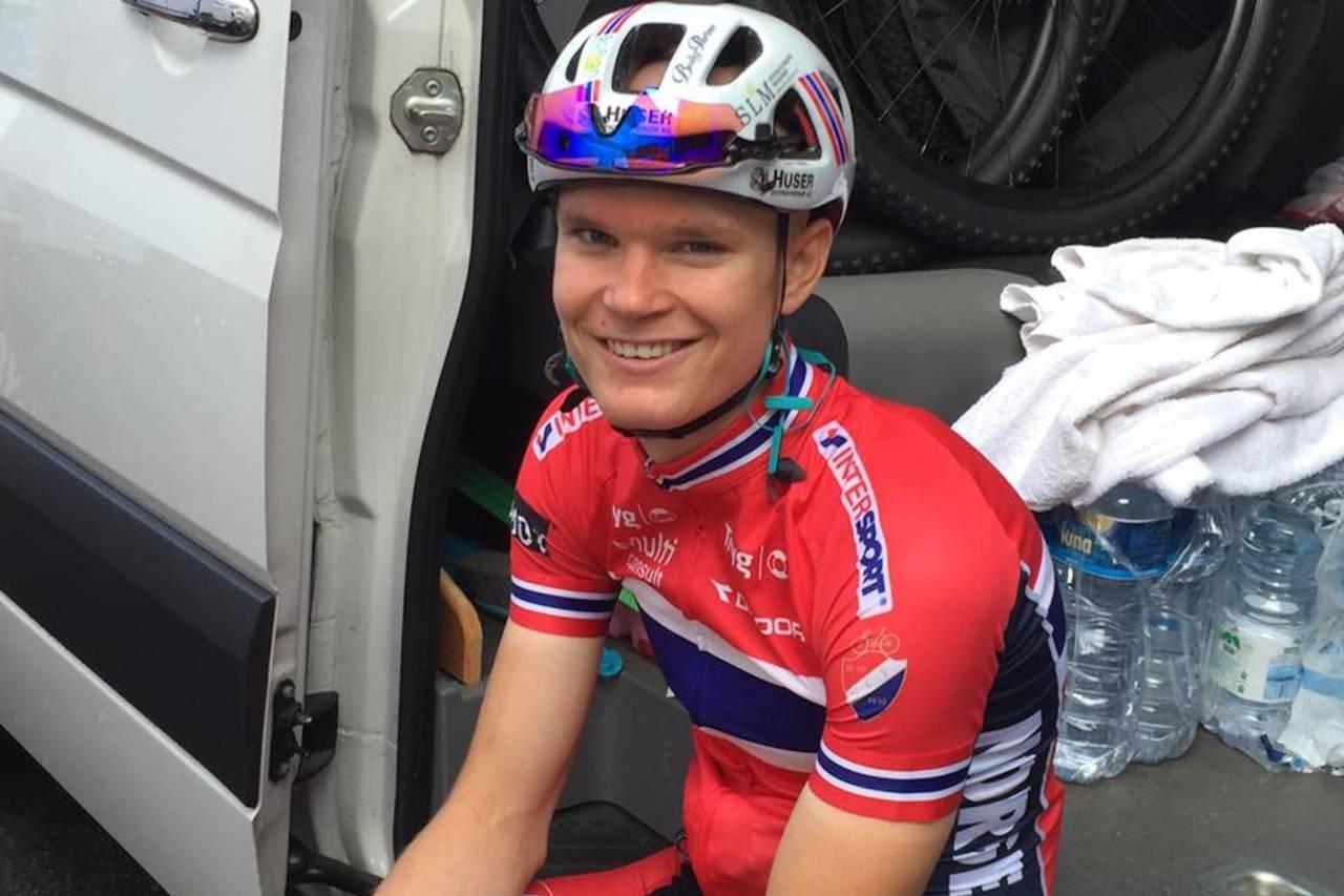Petter Fagerhaug ble beste norske i U23-EM med 11.plass. Foto: NCF